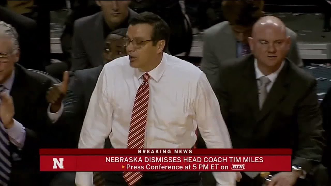 Nebraska Dismisses Head Basketball Coach Tim Miles | B1G Basketball