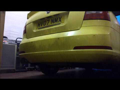 Octavia VRS Milltek exhaust: resonated vs non resonated