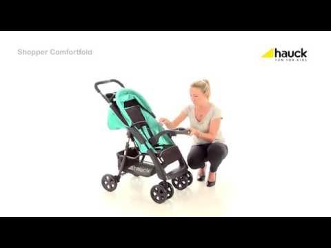 hauck shopper comfortfold youtube. Black Bedroom Furniture Sets. Home Design Ideas