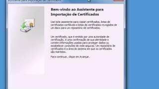 Instalando Certificado Digital A1