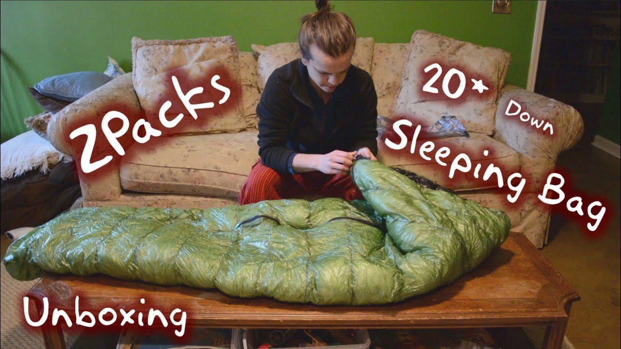 Zpacks 20 Degree Sleeping Bag Unboxing