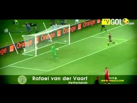 top EURO 2012 thống trị 10 bàn thắng đẹp nhất
