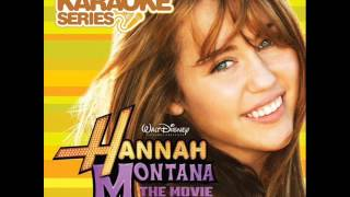 Hannah Montana The Movie-The Climb KARAOKE