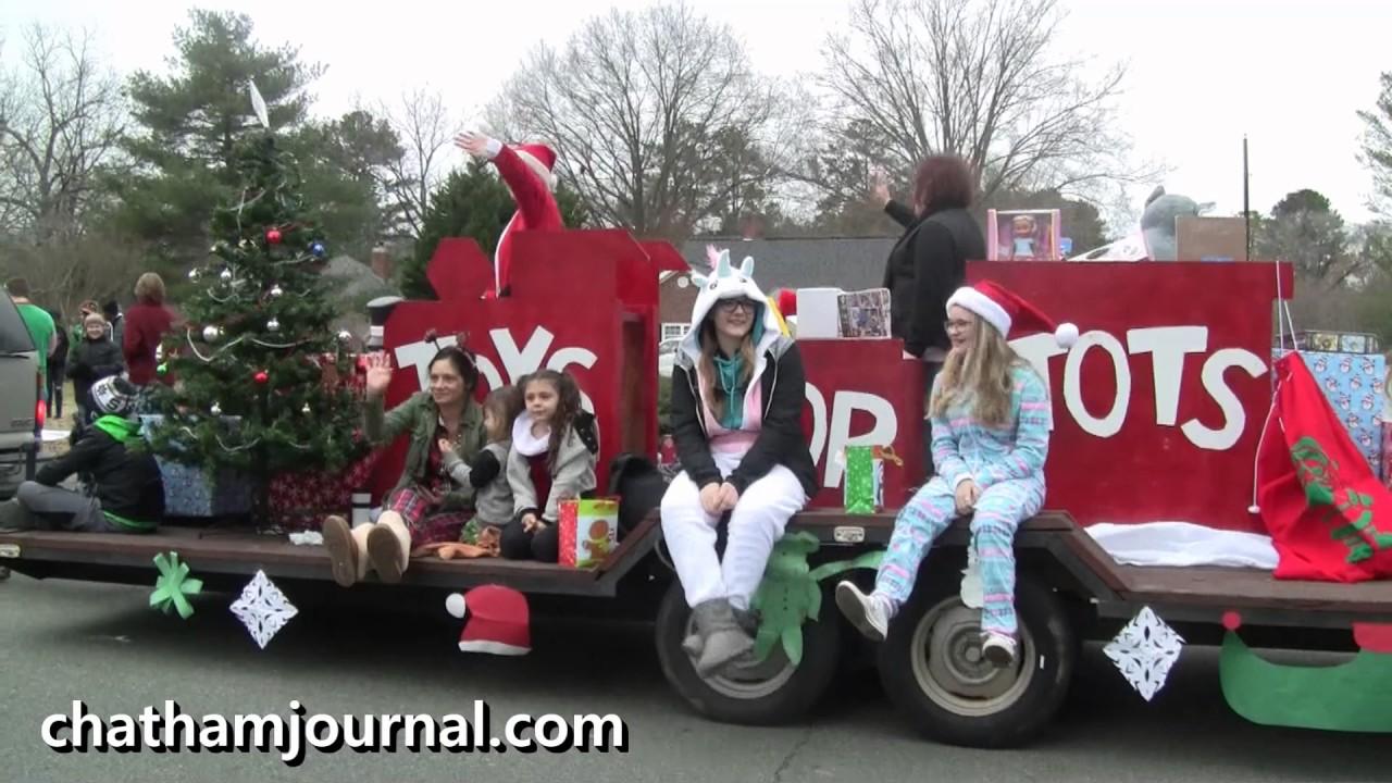 2016 Pittsboro Christmas Parade - YouTube