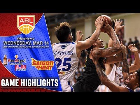 HIGHLIGHTS: Alab Pilipinas vs. Saigon Heat (VIDEO) March 14