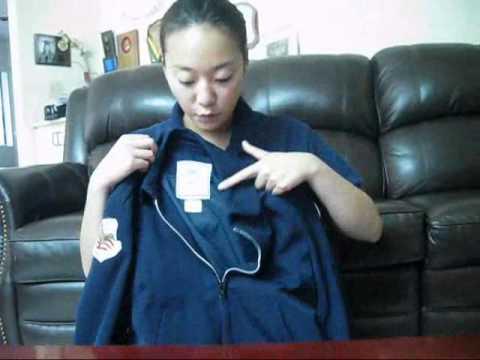 CA-882 AFJROTC Uniform Wear - Lightweight Jackets - YouTube