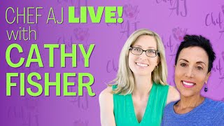 Healthy Living LIVE with Cathy Fisher of Straight Up Food