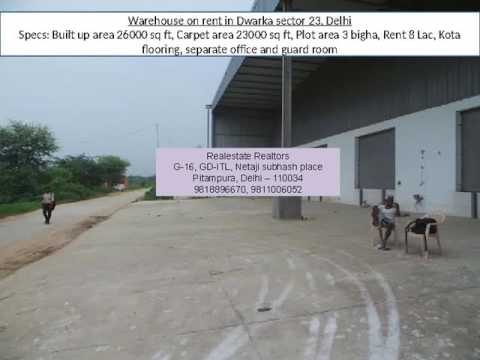 28000 sq ft warehouse   Dwarka sector 28