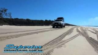 Toyota Landcruiser 200 Series Torqit Exhaust System Test Run