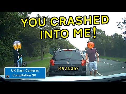 UK Dash Cameras - Compilation 36 - 2019 Bad Drivers, Crashes + Close Calls