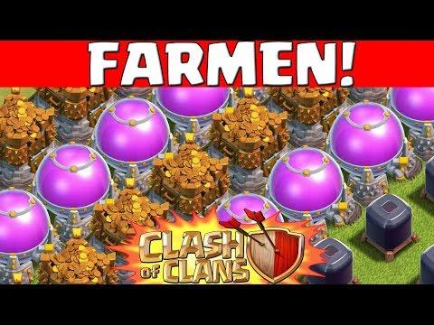 FARMEN - Tipps, Tricks, Taktik || Clash of Clans || Let's Play CoC [Deutsch German]