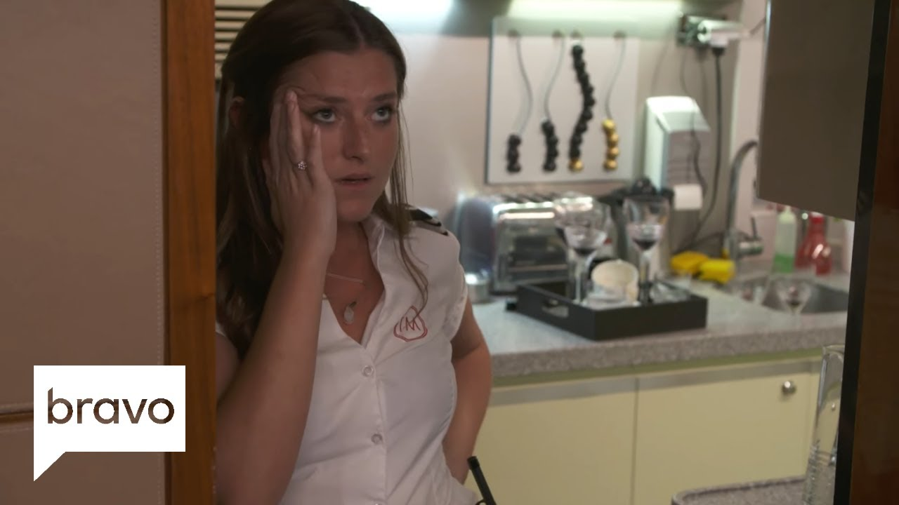 Below Deck Mediterranean: Brooke Laughton Tells Off Hannah Ferrier (Season  3, Episode 13) | Bravo