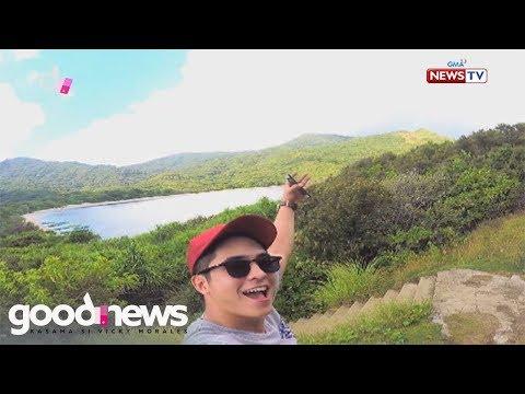 Good News: Tourist destinations sa Cagayan, binisita ni Jay Arcilla