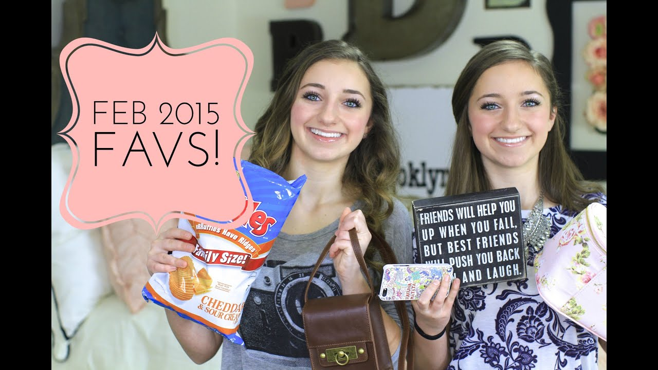 february 2015 favorites brooklyn and bailey doovi
