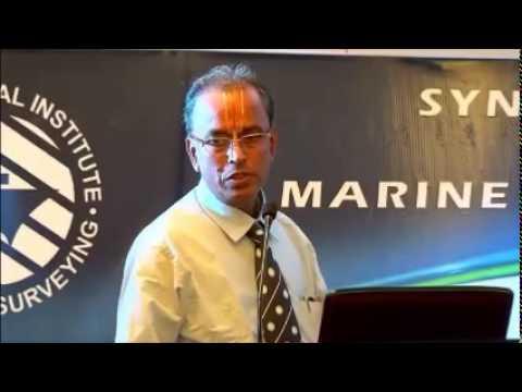 Mr T S Shrinivaasan presents 'Synergies in Marine Surveying'
