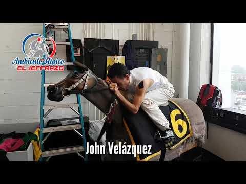 Desde el Preakness Stakes John Velázquez y José Luis Ortiz en el Equicizer