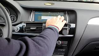 BMW X3 car tablet Android 9 ram4gb rom32gb