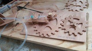 wood gears