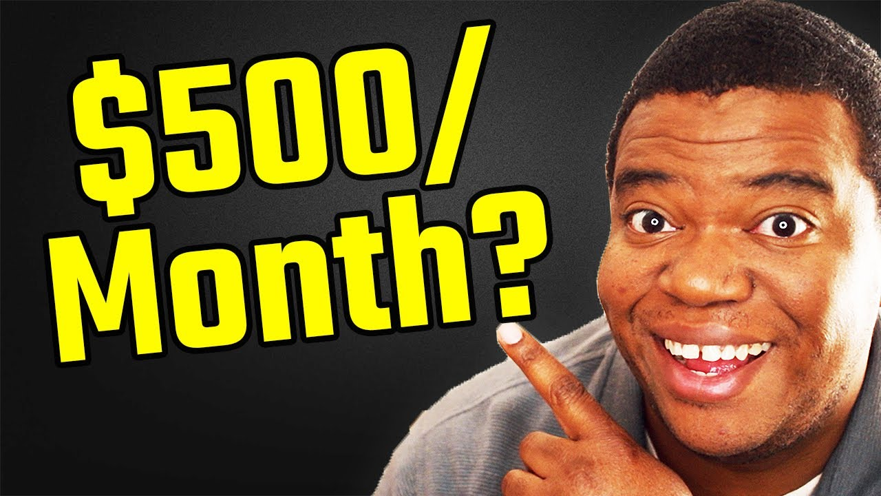 Make Money Blogging 2019: How I Made $500 A Month [12 Month Case Study]