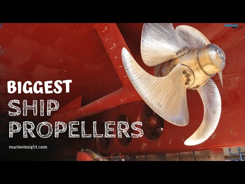 8 Biggest Ship Propellers Youtube