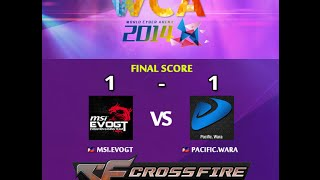WCA2014 MSI.Evo.GT vs Pacific.Wara BlackWidow|Mexico|Tombstone