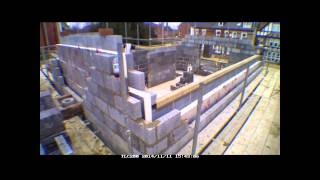 Week 10 Self Build Brick House Timelapse Uk
