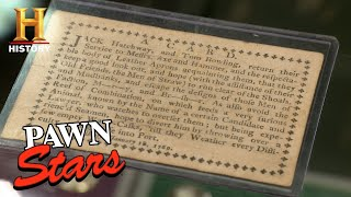 Pawn Stars: Rare Playing Card with a Hidden Message (Season 13) | History