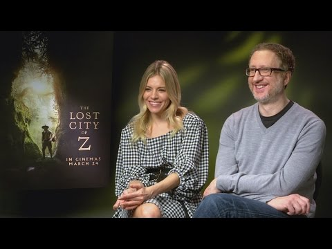 The Lost City of Z: Sienna Miller on playing Tom Holland's mum & James Gray talks Robert Pattinson