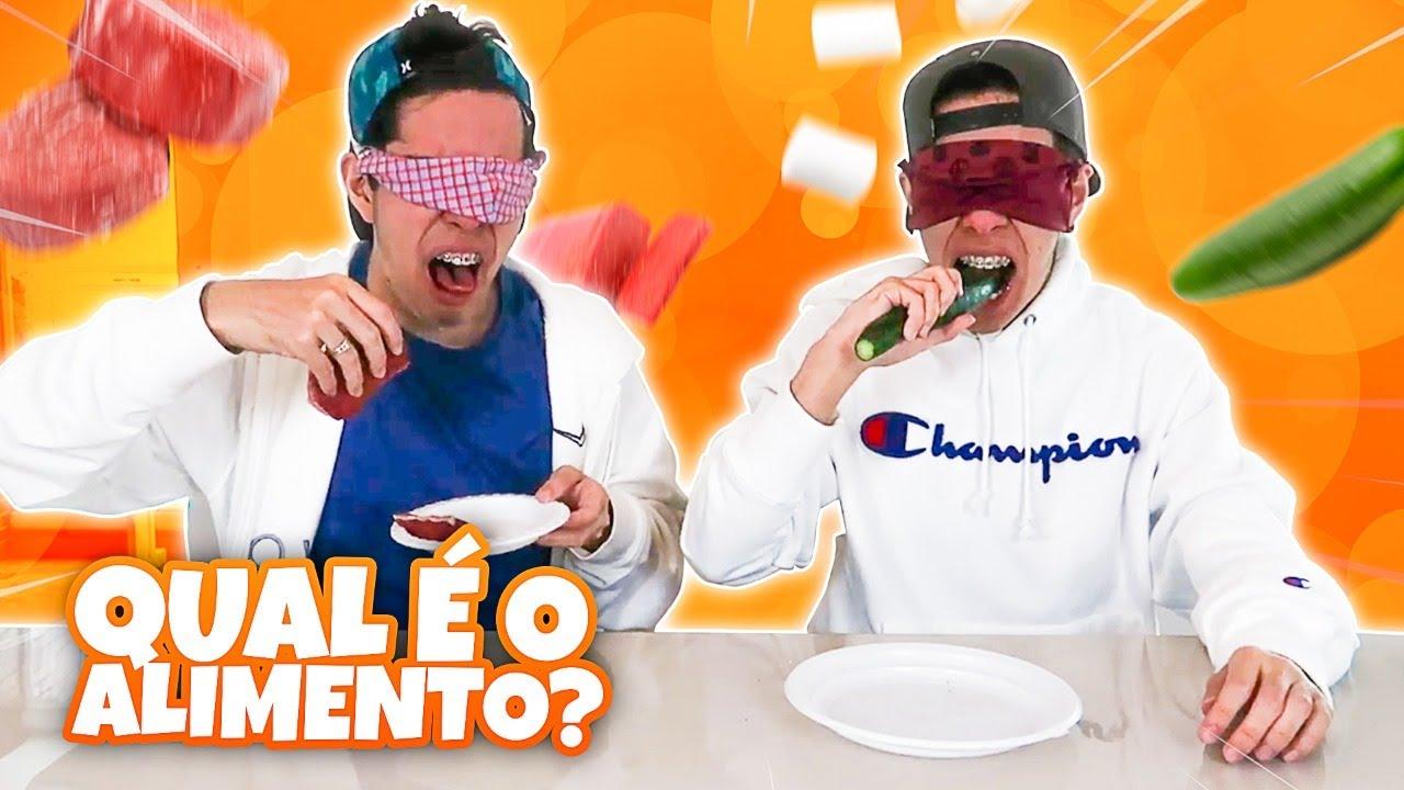 CARNE CRUA! FOMOS TROLLADOS NO DESCOBRA A COMIDA VENDADO DOS BELGAS!!