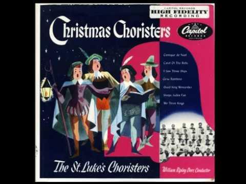 St. Luke's Choristers- Christmas Choristers. 1950