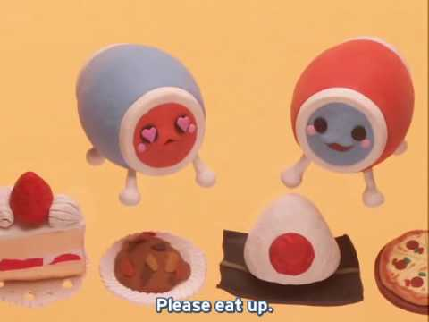 Taiko No Tatsujin Clay Anime 08 - The Many Faces of Don and Katsu!