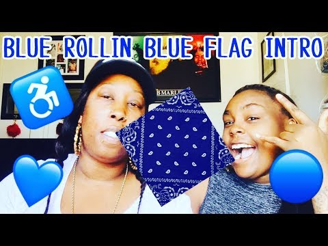 BLUE ROLLIN BLUE FLAG INTRO | REACTION 👀
