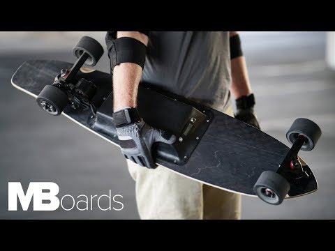 MBoards - A Fully Customizable Electric Skateboard