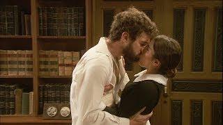 El secreto de Puente Viejo - Bosco e Inés se besan