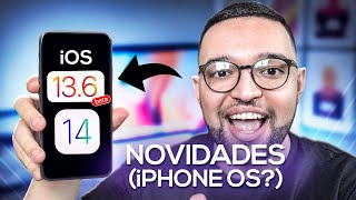 NOVIDADES do iOS 13.6, iOS 14 (iPHONE OS?) e WWDC 2020!