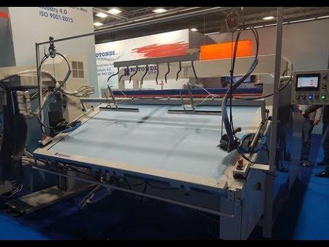 видео: Влажно тепловая обработка (ВТО) с пропариванием трикотажных изделий ROTONDI.