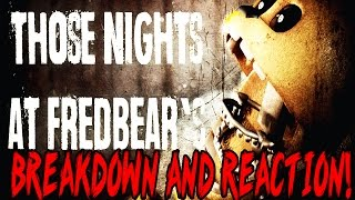 Those Nights at Fredbear's: Gameplay Breakdown And Trailer Reaction!