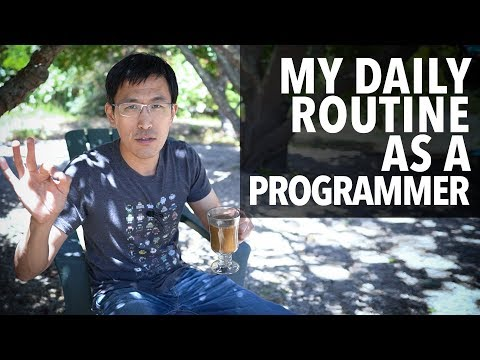 My daily routine as a programmer (for software engineers)