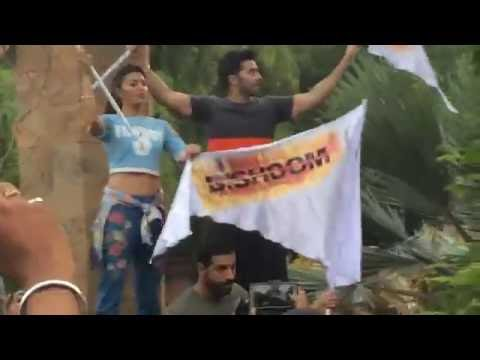 John Abraham Varun Dhawan Jacqueline Fernandez In Nagpur For Promotions Of Dishoom