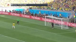 Strafschoppen met Braziliaans commentaar   WK Voetbal 2014