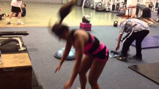 Angela Kwon - Strength plyos Part 2