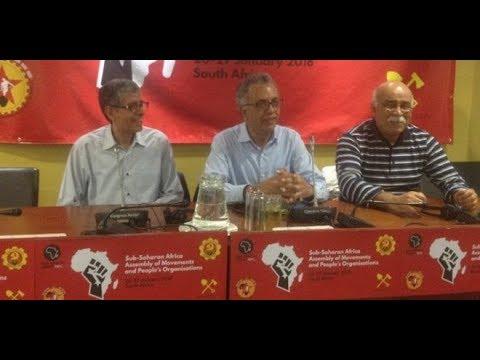 جنوب إفريقيا: عبد الله الحريف في ندوة حول الحراك الاحتجاجي بشمال إفريقيا