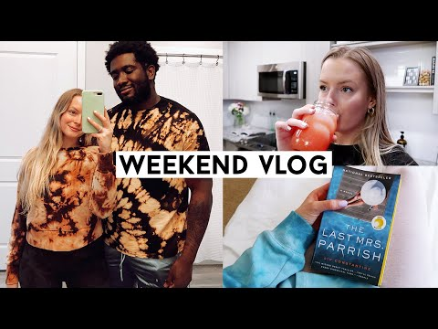 weekend-vlog:-date-night-at-home,-couples-tie-dye,-new-drinks/recipes