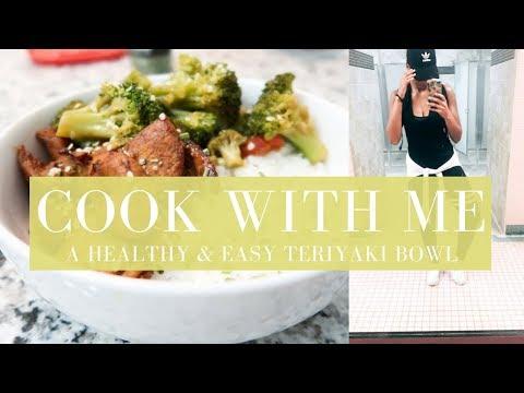 How to Make a Healthy Teriyaki Bowl | Getting Ready for HURRICANE IRMA