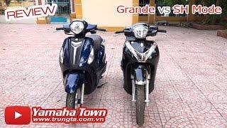 Yamaha Grande đọ dáng Honda SH Mode - So sánh tổng quan! ✔