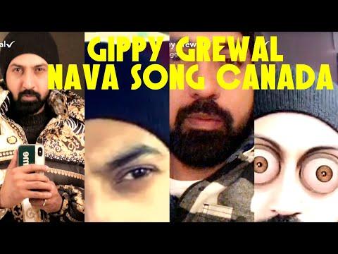 Gippy Grewal Latest Punjabi Song 2018 | Downtown Canada Ch Shooting Nave SONG Diya