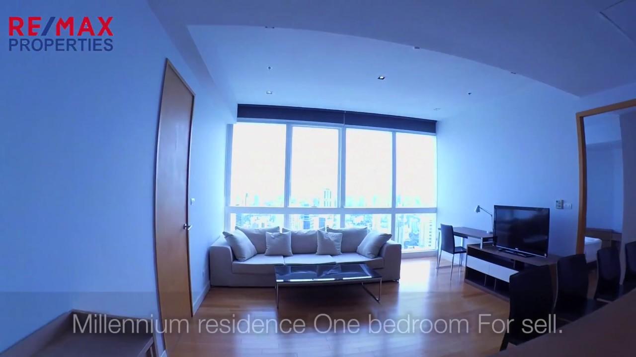 1 Bedroom At Millennuim Residence Sukhumvit For Sale Millennium Residence 1bed 69sqm Youtube