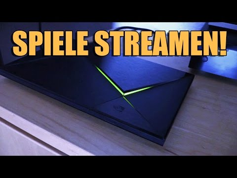 SPIELE STREAMEN! - NVIDIA Shield Konsole