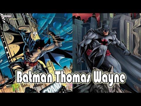 Batman Thomas Wayne เพชฌฆาตค้างคาวผู้อยู่เหนือเเบทเเมน [DC comics]