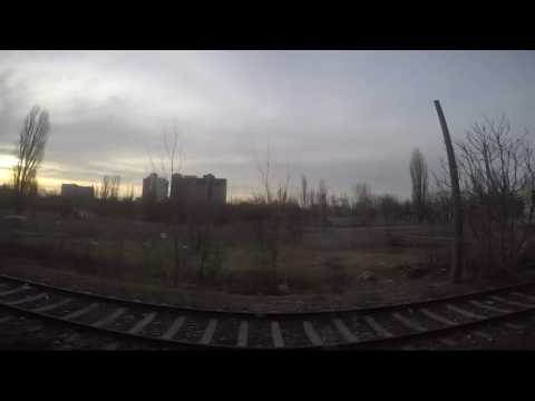 Bucharest to Constanta -train ride (1080 p) Relaxing ride